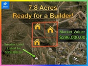 CRAZY DISCOUNT on raw land -- INVESTOR OPPORTUNITY -- Builders LOOK
