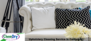 Call us to Properly Deep Cleaning Upholstery Services